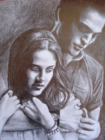 Kristen Stewart, Robert Pattinson by liisteesalu